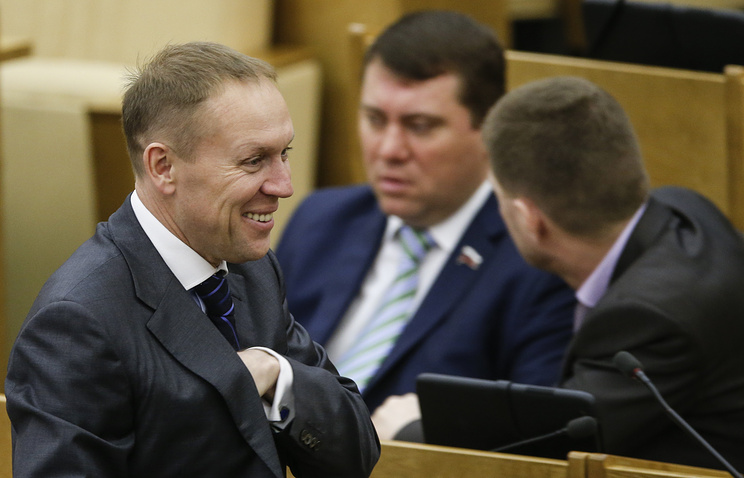 Russian State Duma member Andrey Lugovoy