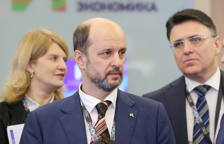 Russian presidential adviser on internet development German Klimenko