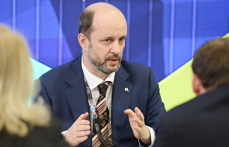 President Putin's advisor on the Internet German Klimenko