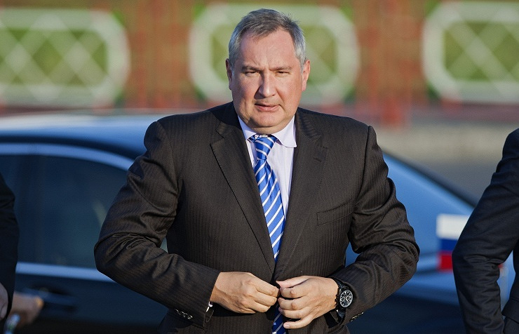 Dmitry Rogozin, the head of the delegation