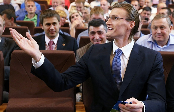 President of the Russian Basketball Federation (RBF) Andrei Kirilenko