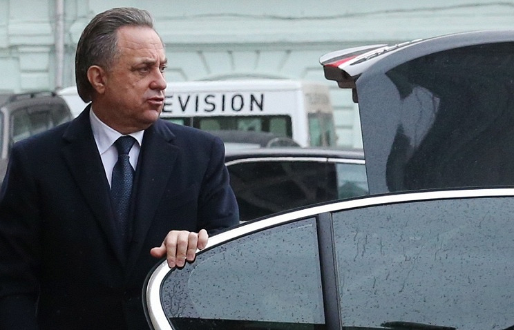 Russian Minister of Sport Vitaly Mutko