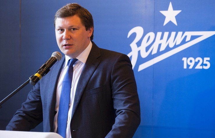 General Director of Zenit Maxim Mitrofanov