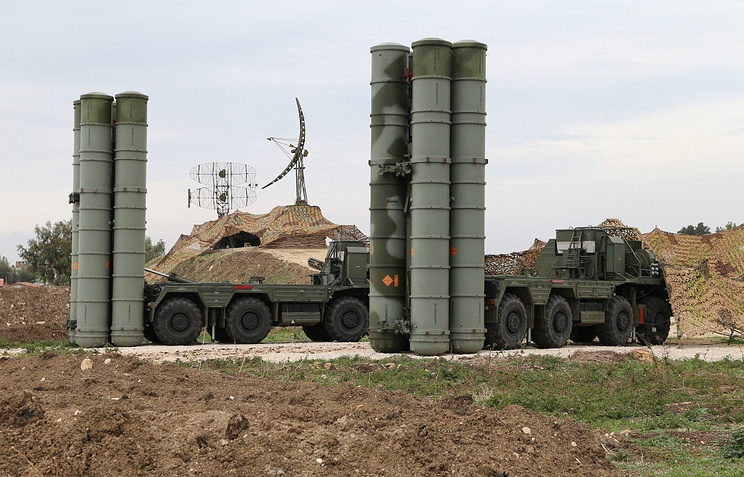 Russia's S-400 air defense systems in Syria