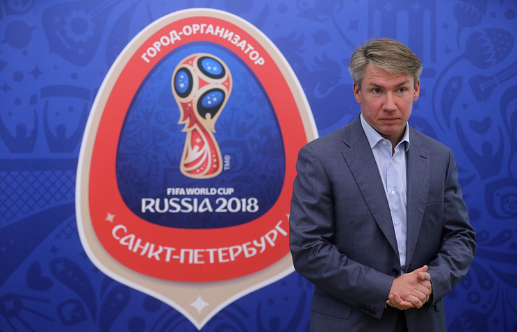 Alexei Sorokin, the director general of the Local Organizing Committee Russia-2018