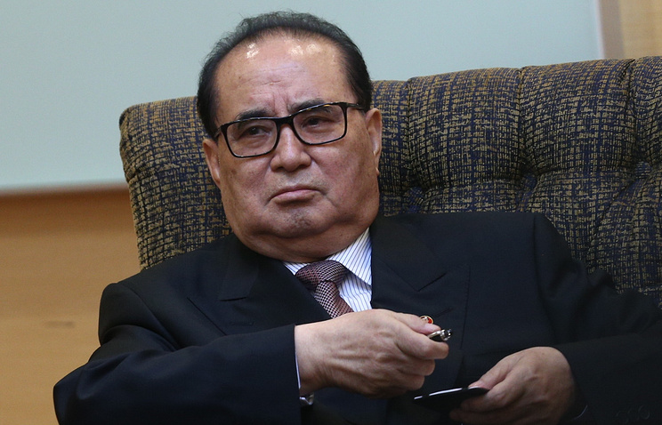 North Korean Foreign Minister Lee Su-yong