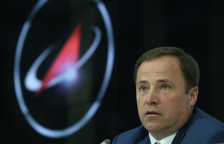 Head of the Roscosmos corporation, Igor Komarov