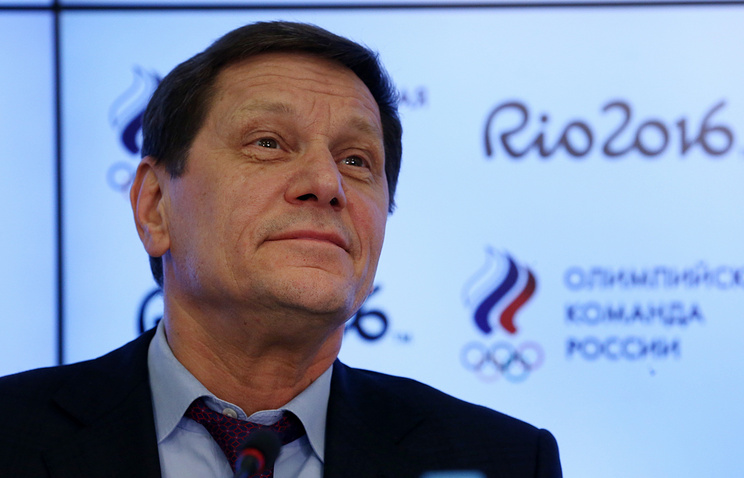 President of the Russian Olympic Committee (ROC), Alexander Zhukov