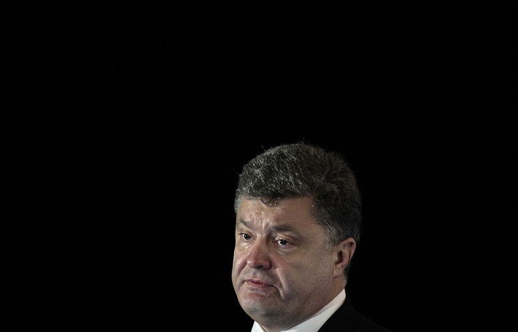 Ukrainian President Petro Poroshenko