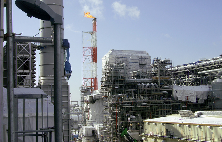 Far East LNG plant (archive)