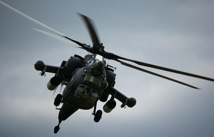 Mi-28N helicopter