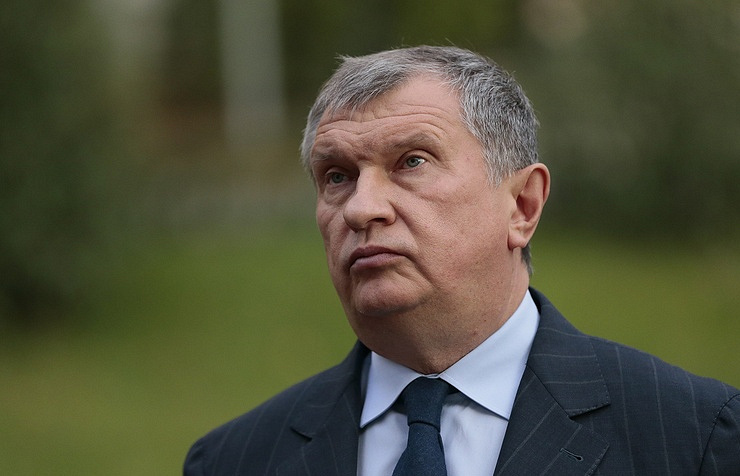 Head of Rosneft Igor Sechin