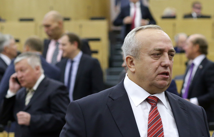 Franz Klintsevich, first deputy chairman of the defense and security committee in the Federation Council