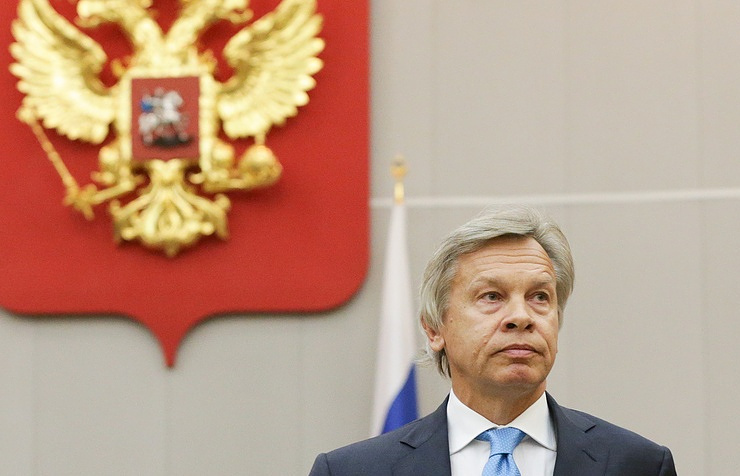 Chairman of the international affairs committee of the State Duma Alexey Pushkov