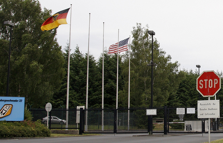 A German military base storing US nuclear weapons (archive)