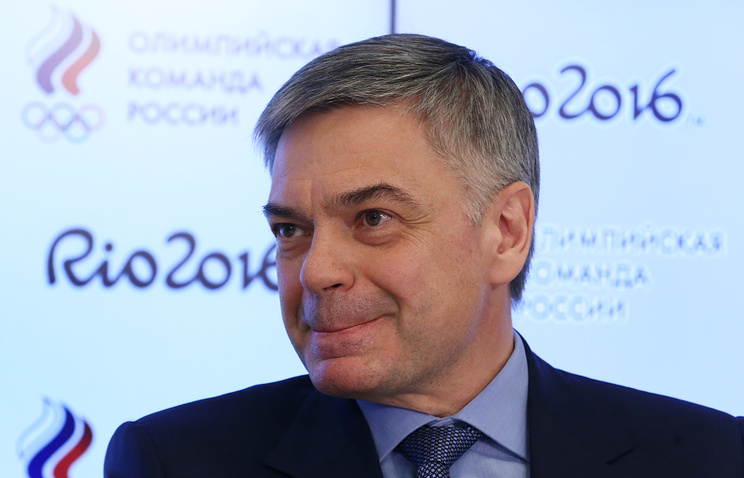 President of the Handball Federation of Russia Sergei Shishkaryov