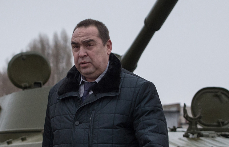 Head of the self-proclaimed Lugansk People's Republic, Igor Plotnitsky