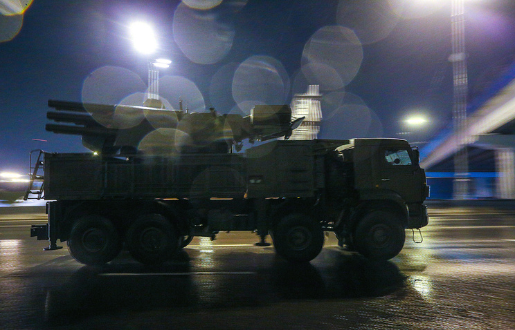 Pantsir-S air defense system