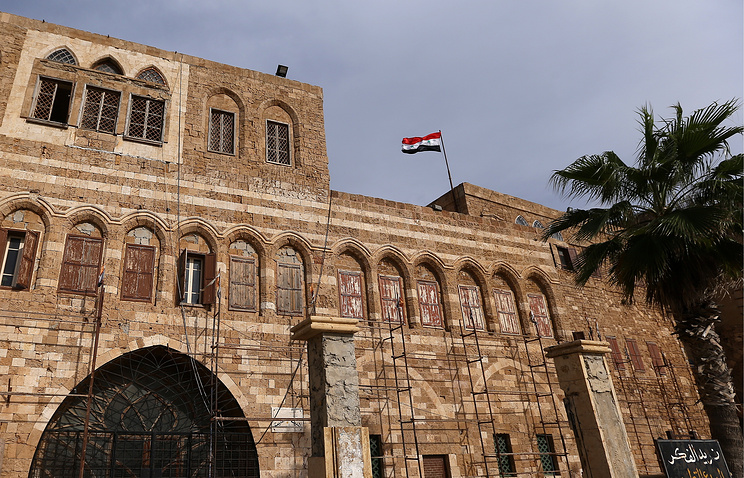 The old city in the Syrian Tartus