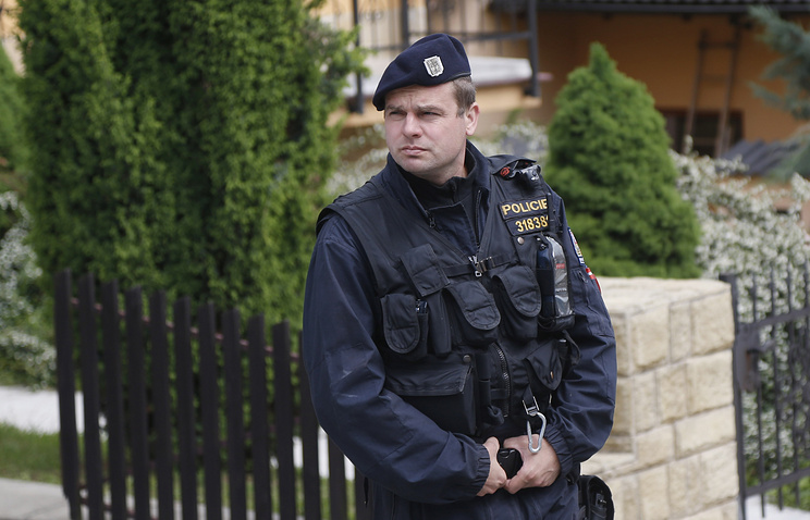 Czech police officer