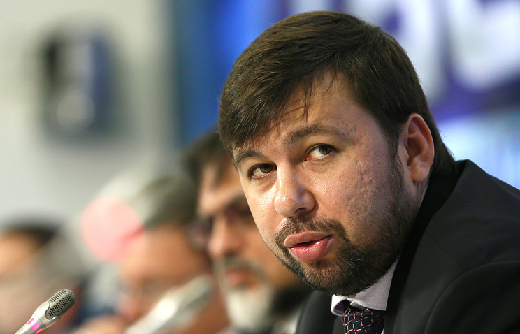 DPR envoy to Minsk talks Denis Pushilin