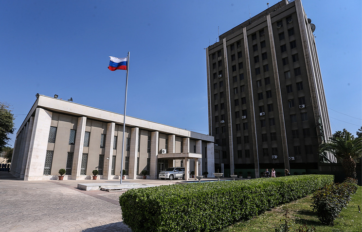 Russian Embassy in Damascus
