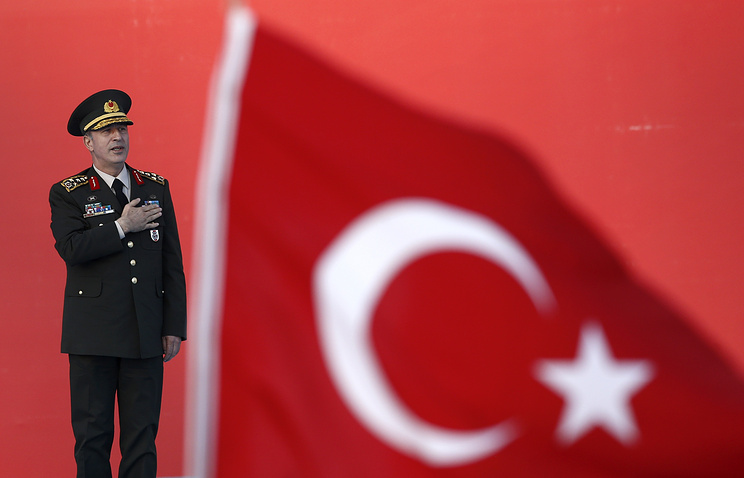 Turkey's Chief of the General Staff Hulusi Akar