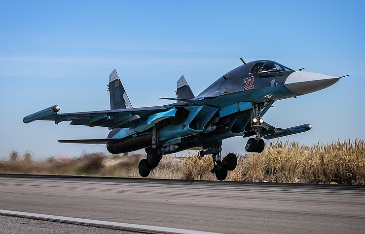 Sukhoi Su-34 fighter bomber