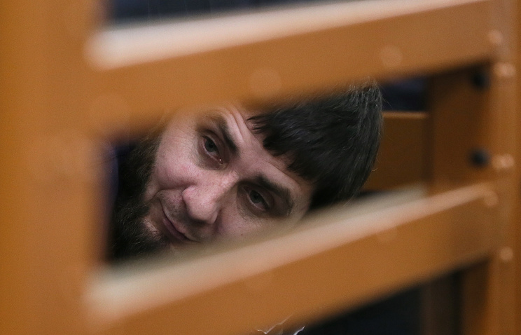 Zaur Dadayev, suspected of being involved in the murder of Boris Nemtsov