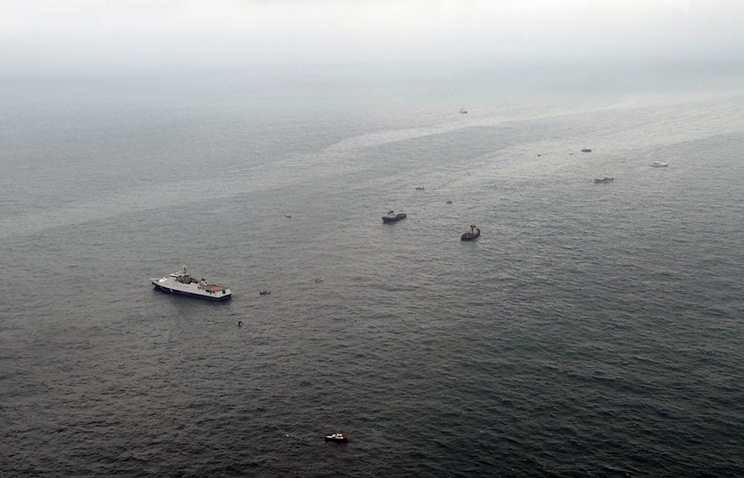 Rescue boats searching in Black Sea for wreckage of Russian Tu-154 plane