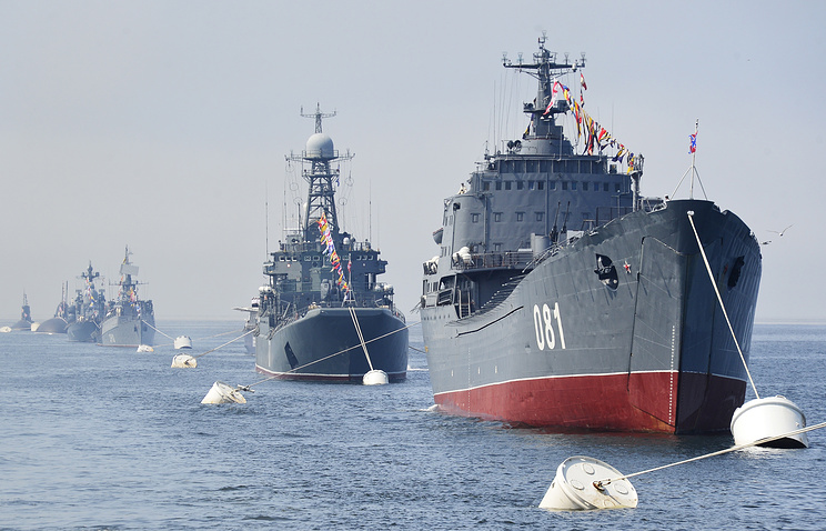 Ships of Russia's Pacific Fleet