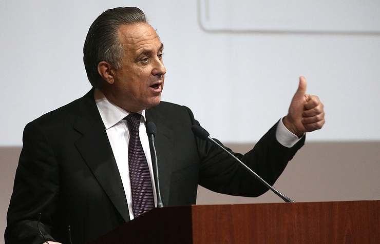President of Russia's Football Union and Deputy Prime Minister Vitaly Mutko