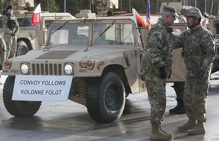 US troops in Poland