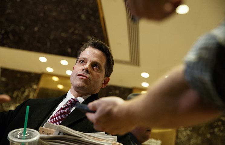Anthony Scaramucci, a senior advisor to President-elect Donald Trump