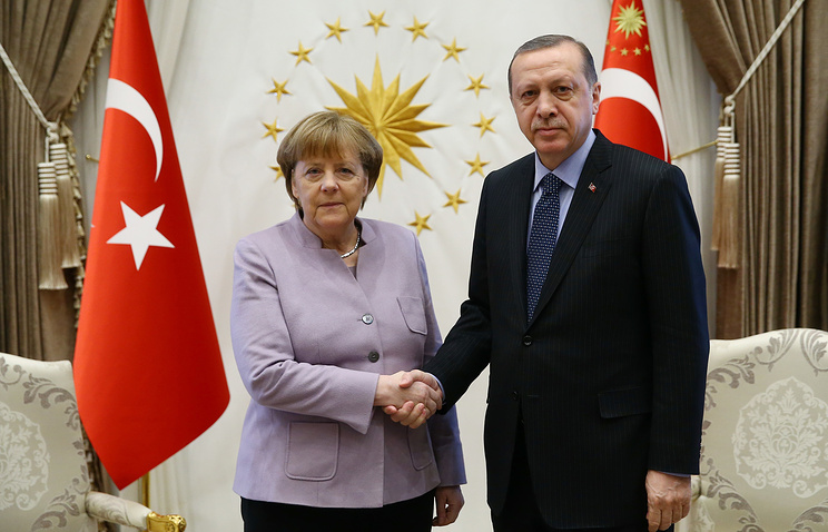 German Chancellor Angela Merkel and Turkish President Recep Tayyip Erdogan