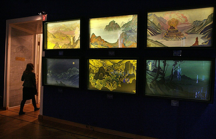 Roerich's paintings reproductions