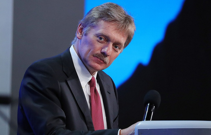 The Russian presidential press secretary Dmitry Peskov