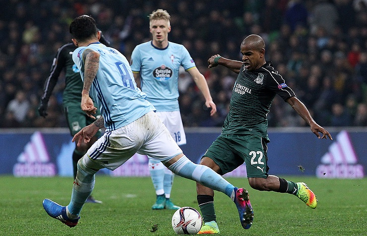 Russia's Krasnodar loses to Celta, fails to reach Europa League quarter-finals