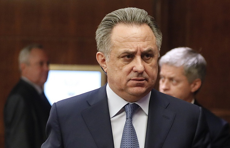 Russian Deputy Prime Minister and President of the Russian Football Union Vitaly Mutko