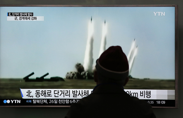 North Korea Launches Projectile, US Officials Say, in Apparent Missile Test