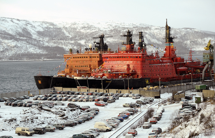 50 Let Pobedy nuclear icebreaker