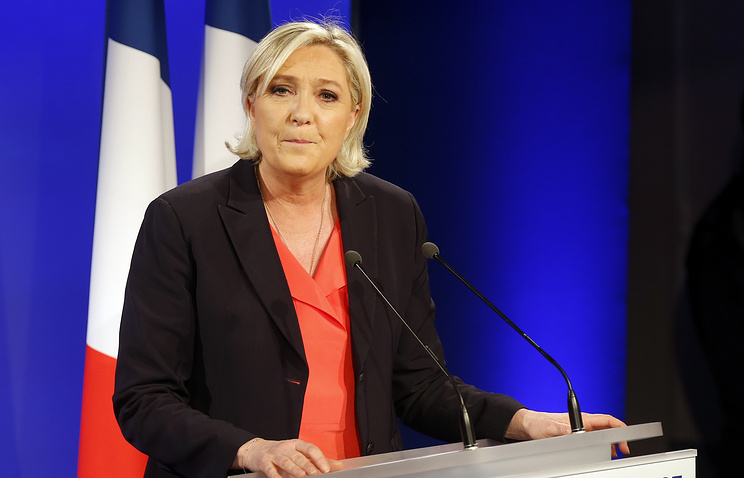 President of the National Front Marine Le Pen