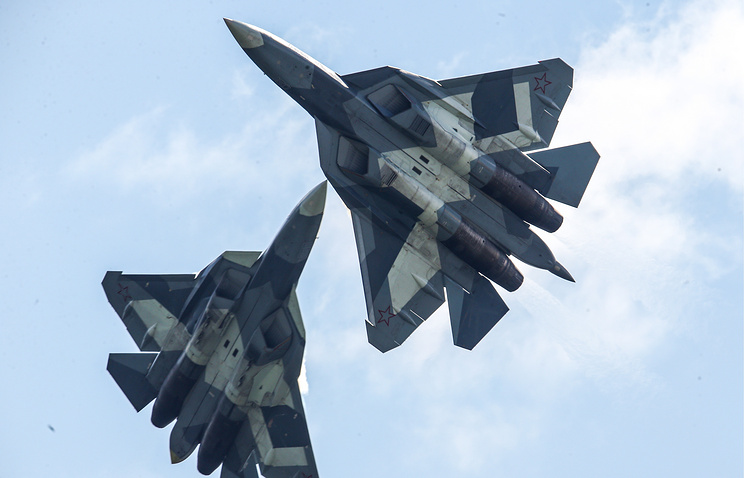 T-50 fighter jet