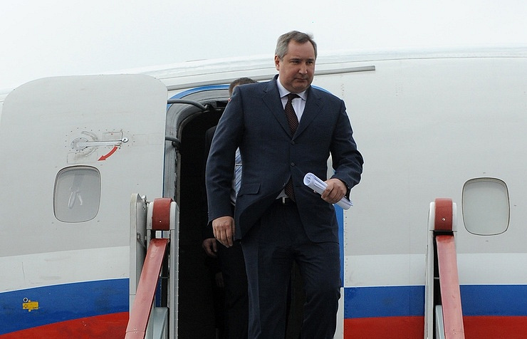 Russian deputy PM's refused entry to European Union  airspace