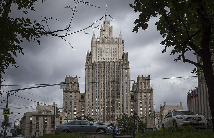 Russia's Foreign Ministry building
