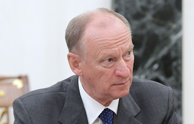 Secretary of Russia's Security Council Nikolay Patrushev