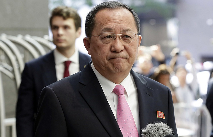 Foreign Minister Ri Yong-ho
