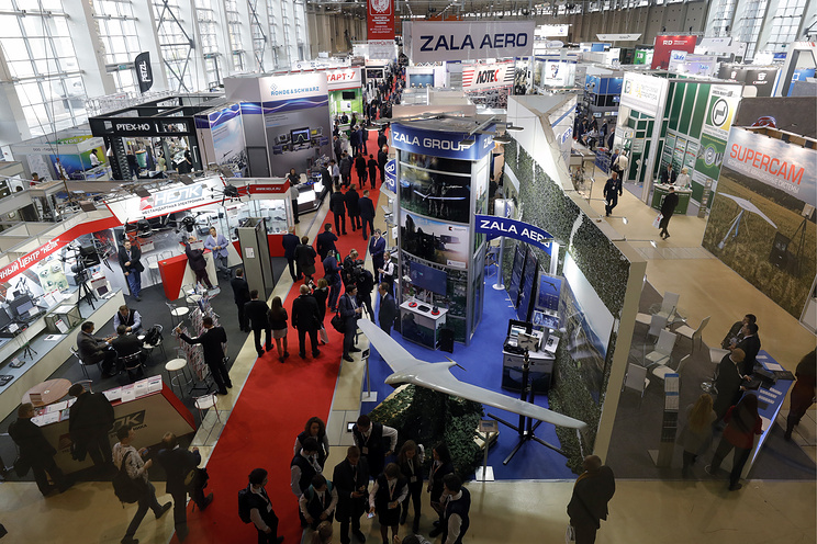 Interpolitex exhibition in Moscow