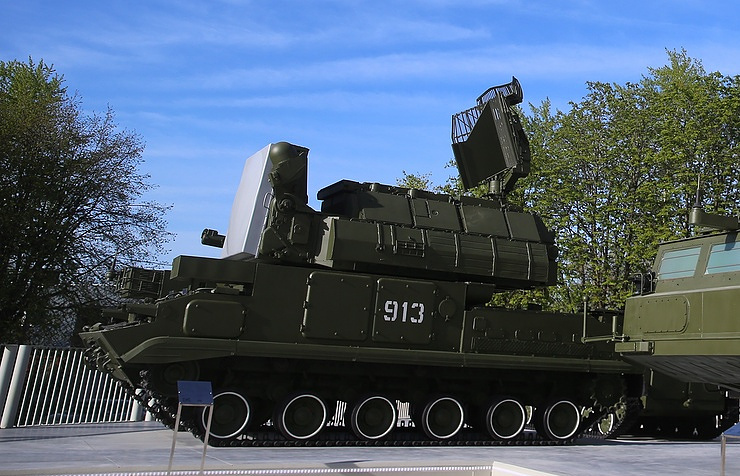 Tor surface-to-air missile system