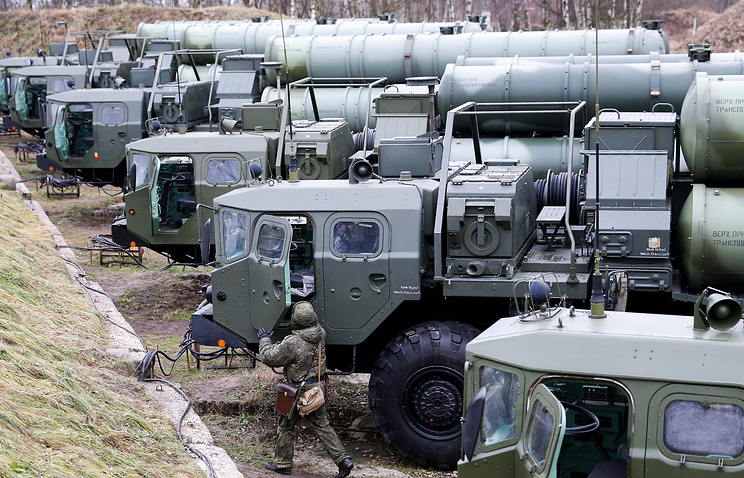 S-400 Triumf missile systems